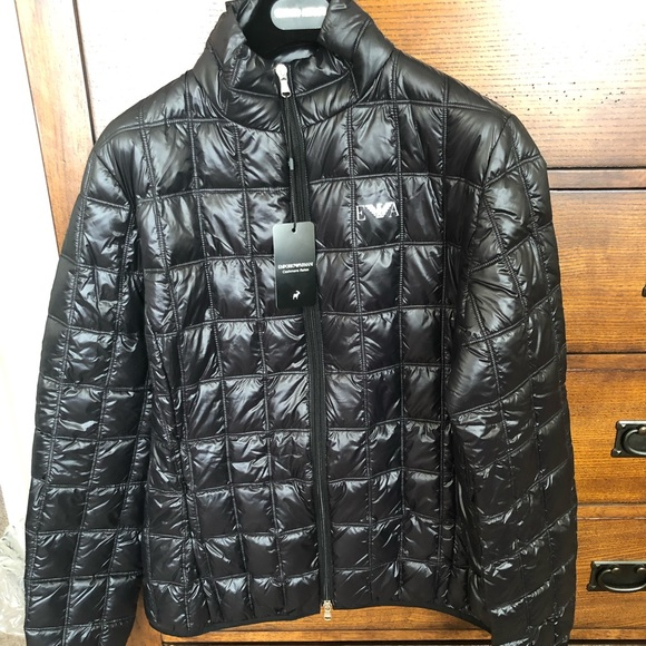 women best online select for clearance Emporio Armani Blouson Jacket NWT